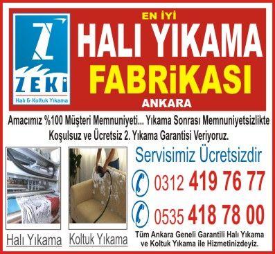 Ankara Çankaya Antibakteriyel Halı yıkama
